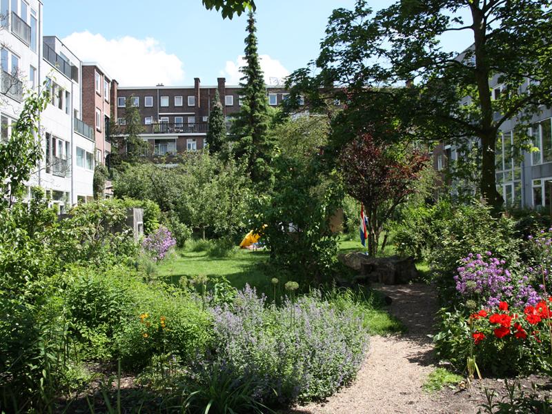 Platform binnentuinen for De tuinen rotterdam